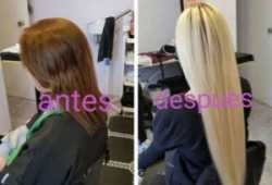 Extensiones de pelo natural a domicilio