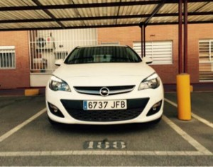 Opel astra turbo selective