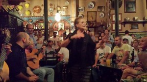 Bar-tablao flamenco