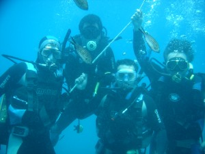 Curso buceo OPEN WATER DIVER (PADI)